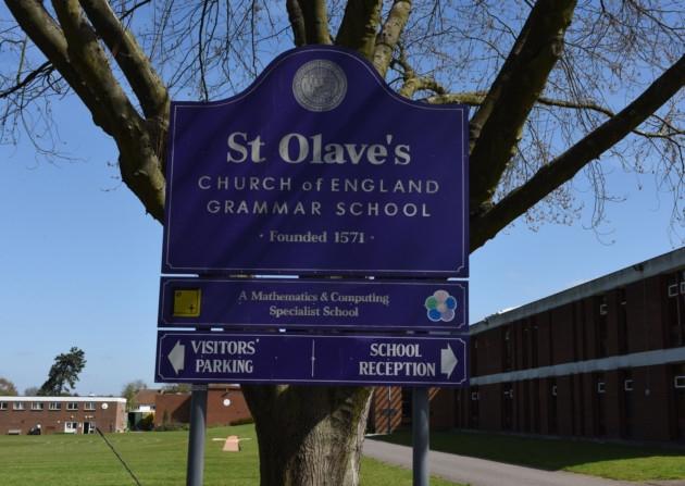 St Olave's grammar in Bromley