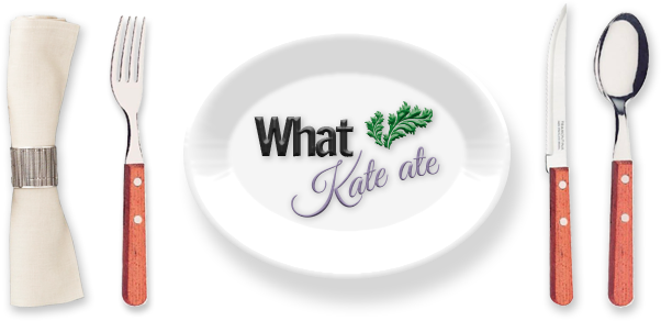 What Kate Ate