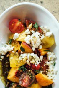 The tomato salad
