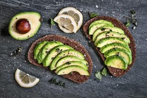 sandviches with avocado